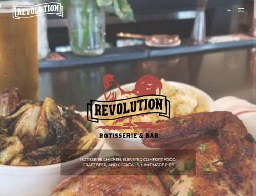 Revolution Rotisserie Website Design