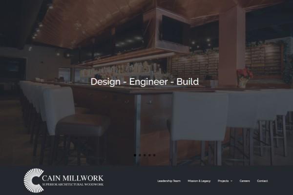 Millwork Website
