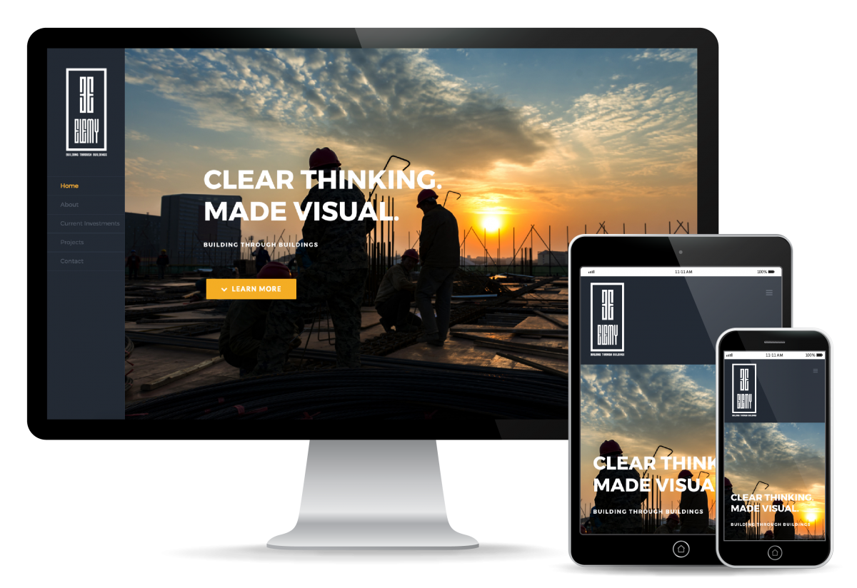 Elemy LLC Website Design