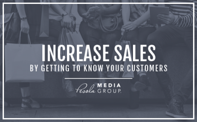 Increase sales by getting to know your customers