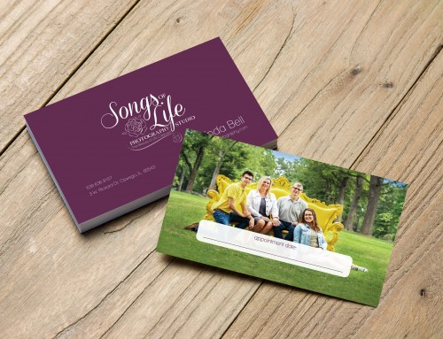 Songs of Life Photography Business Card