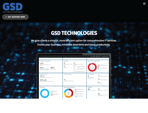 GSD Technologies Website Design